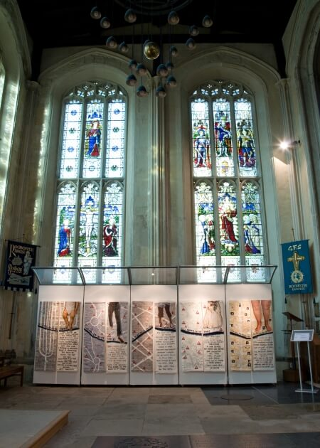 Cathedral Exhibition - Rites of Passage at Rochester Cathedral