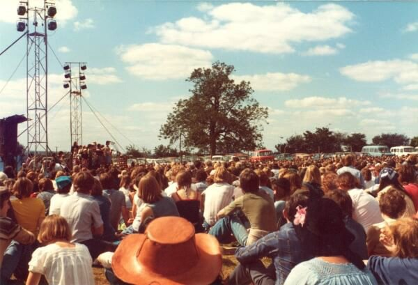 Main Stage at Greenbelt 1977